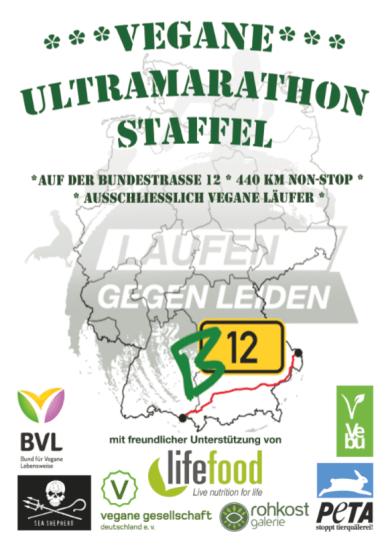 Die vegane Ultramarathon Staffel