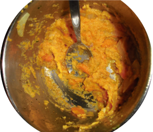 Möhren-Zwiebel-Füllung