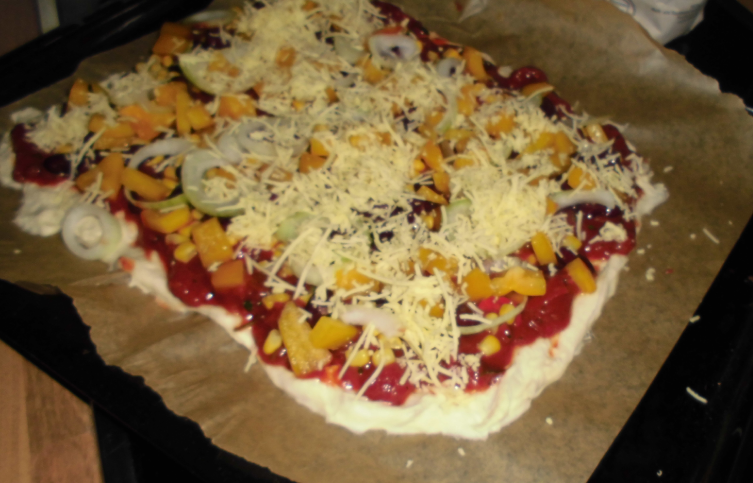 vegane Pizza