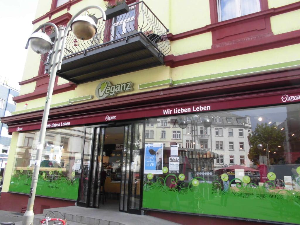 Veganz in Frankfurt