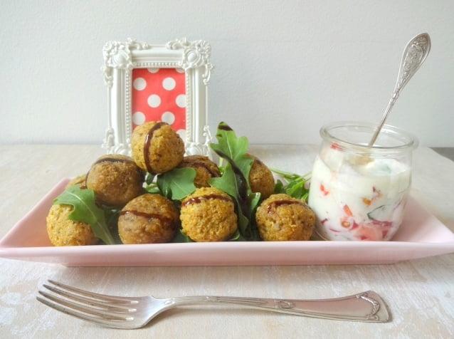 Frittierte Tofu-Bällchen