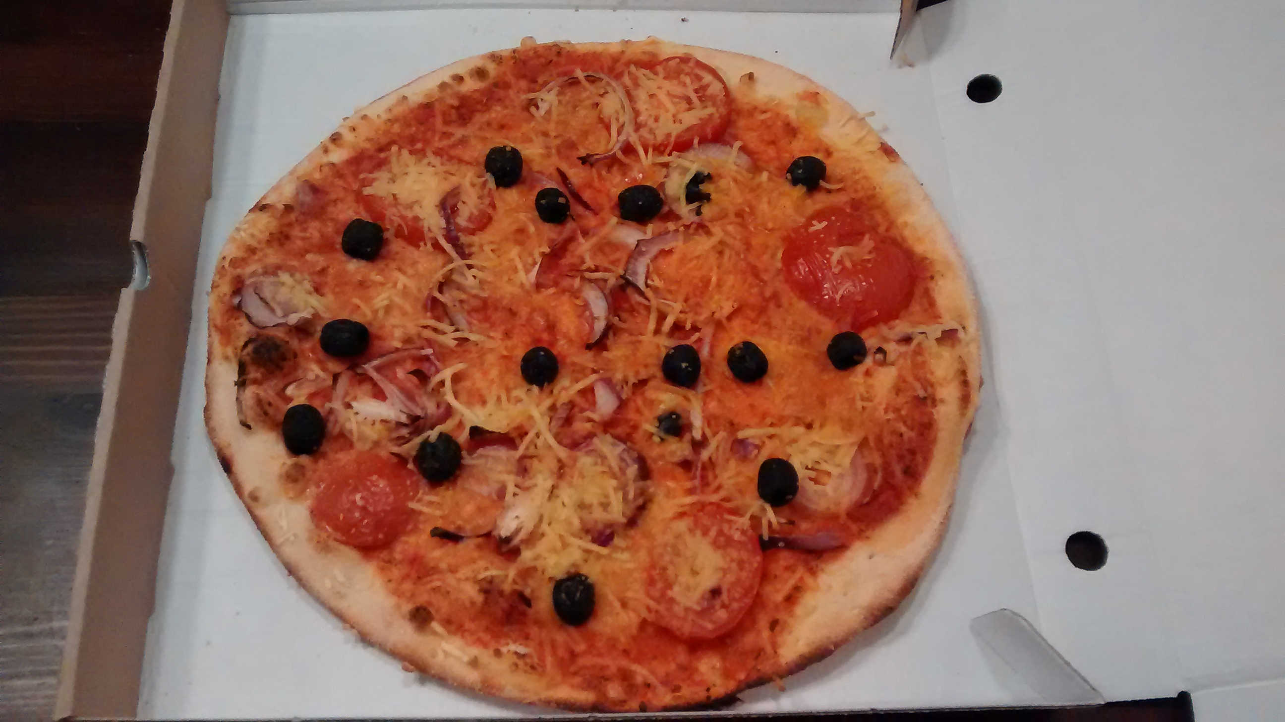Pizza vegan Vasilios