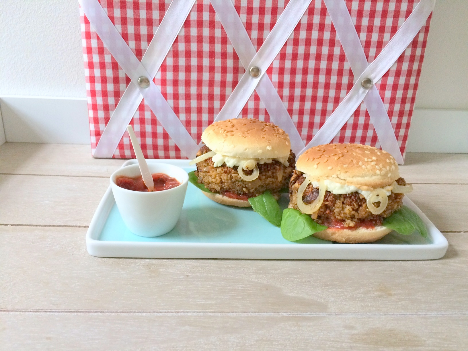 Veggie Burger (vegan)