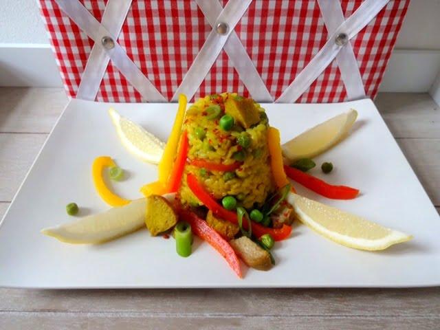 vegane Paella 1